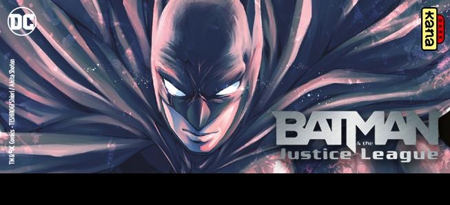 Batman débarque en manga !