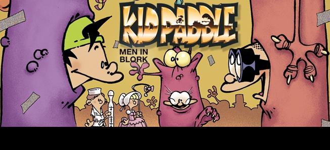 Kid Paddle est de retour, toujours plus trash...