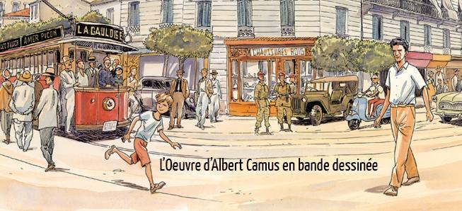 Les oeuvres de Camus vues par Jacques Ferrandez...