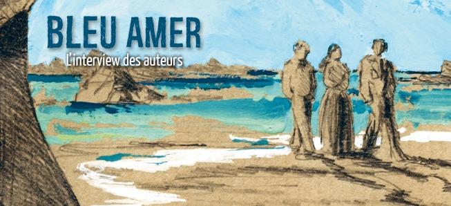 Sylvère Denné et Sophie Ladame racontent la naissance de leur première BD !