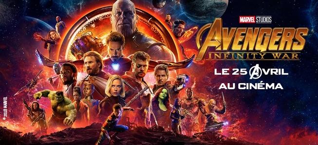 L'Infinity War débarque bientôt au cinéma....