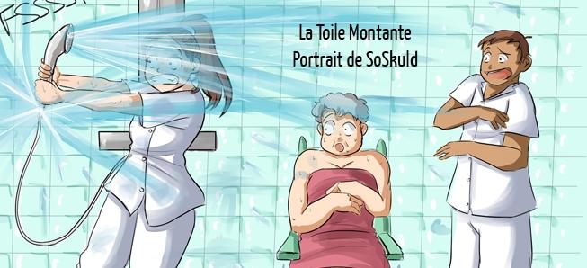 Des perfusions à la BD, découvrez SoSkuld et son humour !