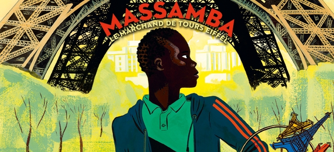 Massamba se retrouve enfin face à la Tour Eiffel...