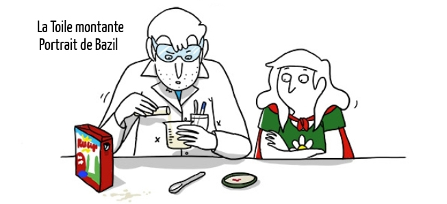 Découvrez la drôle de vulgarisatrice scientifique qu'est Bazil !
