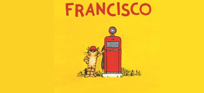 Retrouvez Fancisco, le chat pompiste !