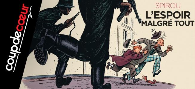 Spirou et Fantasio se font résistants...