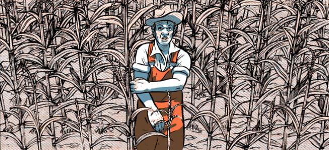 Le retour d'Alex W. Inker pour un roman graphique dans l'Amérique de Steinbeck