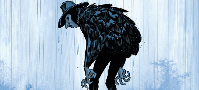 ARCHIVES : L'homme Gribouillé 320 pages de secret de famille, de maître chanteur, d'ogre et de golem