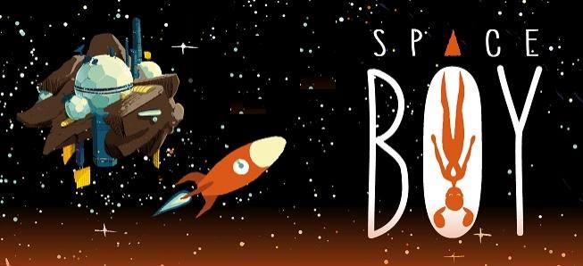 Découvrez les premières planches de Space Boy, nouvelle série Jeunesse
