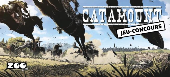 Jouez et tentez de gagner l'un des 10 albums de Catamount T.04 !