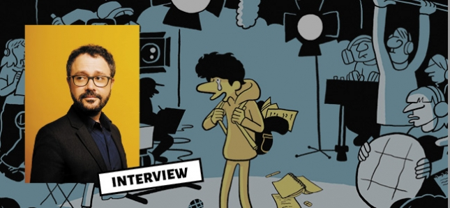 Découvrez la nouvelle interview de Riad Sattouf