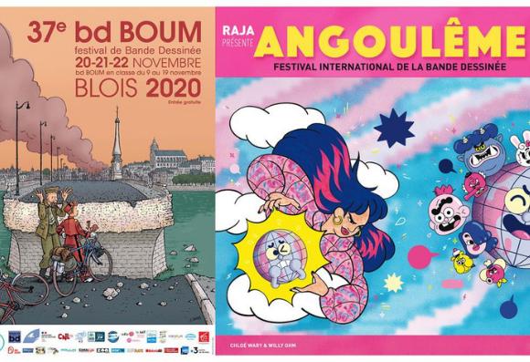 Le Festival BD Boom et Le Festival International d'Angoulême se sont réinventer pour célébrer cette année de la BD