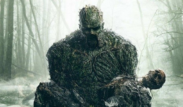 Extrait de l'affiche de Swamp Thing