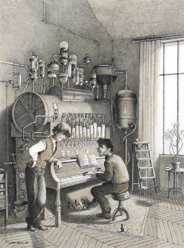 Exposition : Une centaine d'originaux seront présentés avec les illustrations au crayon de cire de L'Écume des jours,