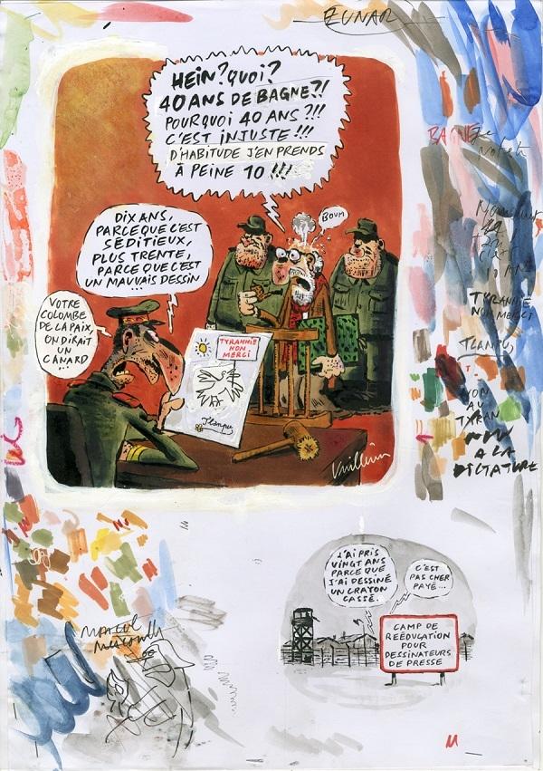 Charlie Hebdo Dessin pour Charlie No. 1216