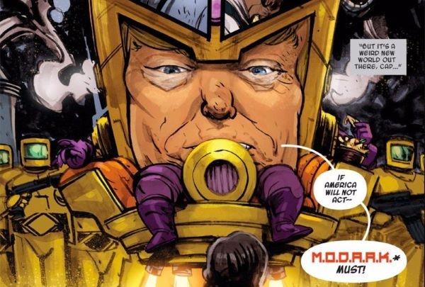 les réseaux sociaux anti-Trump qui menacèrent Marvel d'un boycott
