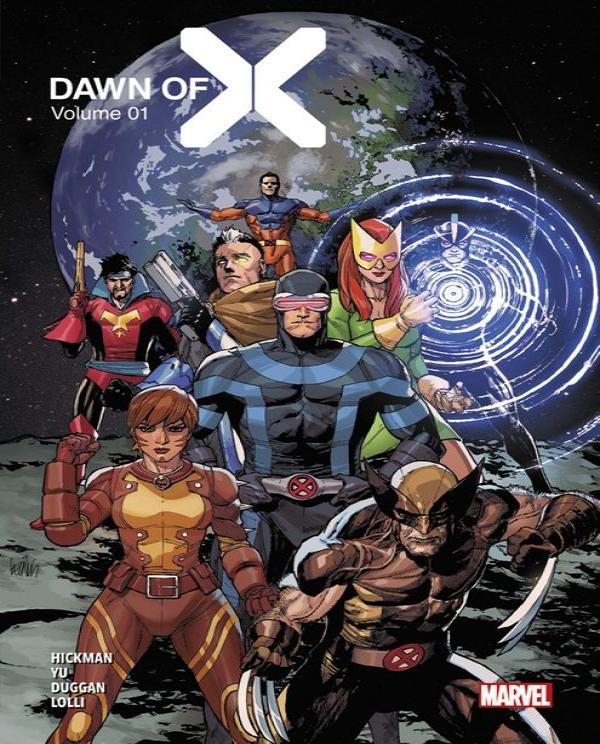Couverture du premier numéro de Dawn of X