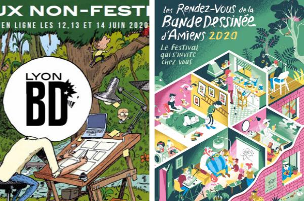 Les Rendez-Vous de la Bande Dessinée d'Amiens et Lyon BD Festival touchent chaque mois de juin et cumulé un public de 130.000 visiteurs. Les évènements et projets portés par les deux structures génèrent chaque année un total de plus de 200.000€ de ré