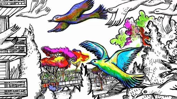 L'illustratrice Carole Chaix a lancé la semaine du SLPJ télévisé