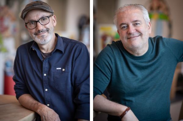 le scénariste Jean-Yves Ferri réalise sa cinquième histoire en duo avec le dessinateur Didier Conrad
