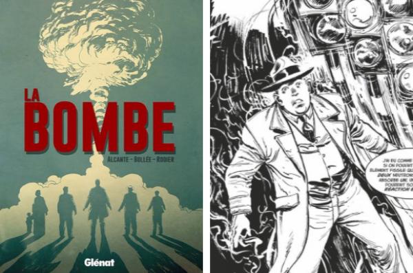 ce roman graphique raconte les coulisses et les personnages-clés de l'événement tragique d'Hiroshima