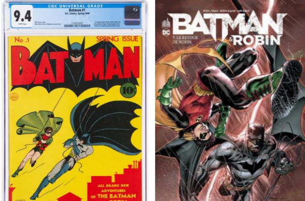 En plus de 80 ans Batman et Robin ont bien évolué