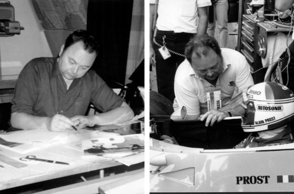 Graton va s'inspirer des stars de la F1 comme Prost pour ses œuvres