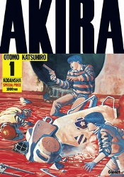 Couverture d'Akira tome 1