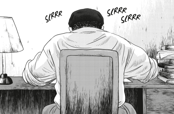Démétrios devient assistant d'Osamu Tezuka