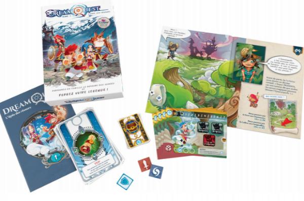 DreamQuest: Un livre-jeu en duo coopératif enfant-parent