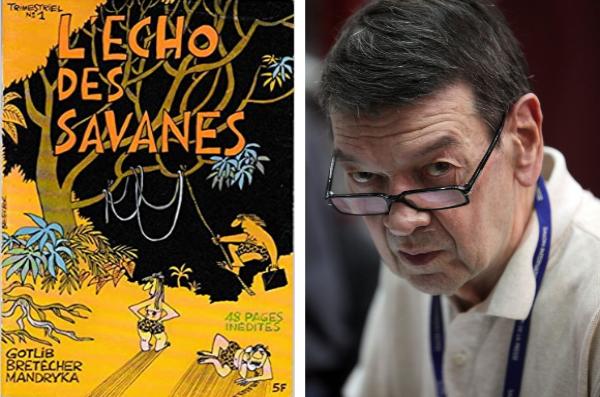 Mandryka fonde en 1972 L'Echo des savanes avec Claire Bretécher et Marcel Gotlib