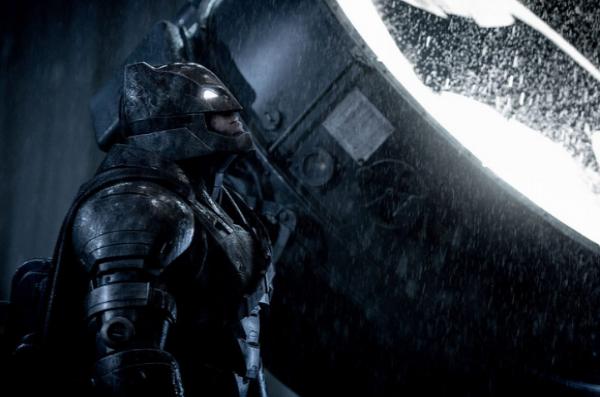 Le Batman de Zack Snyder dans L'Aube de la Justice