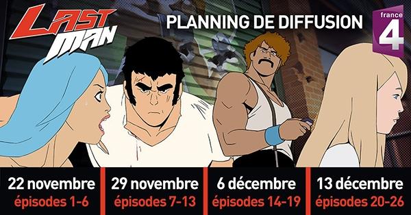 Planning de diffusion Lastman