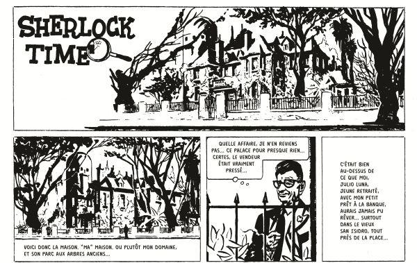 Breccia considérait Sherlock Time comme son premier travail digne d'intérêt