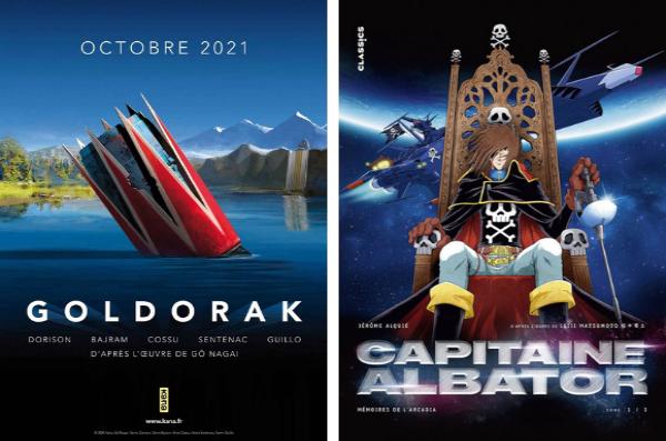 La collection Classics a annoncé une adaptation de Goldorak après celle d'Albator