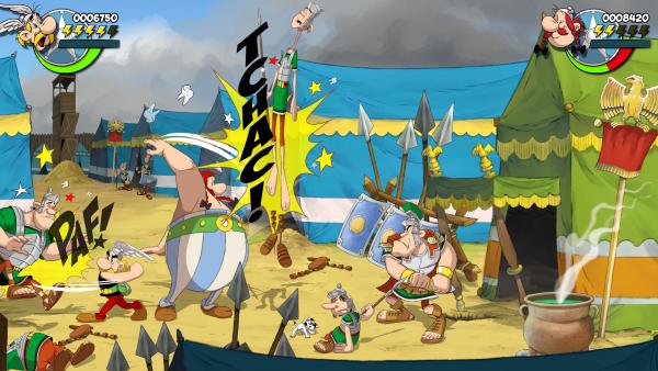 Extrait du jeu Astérix et Obélix: Baffez-les Tous