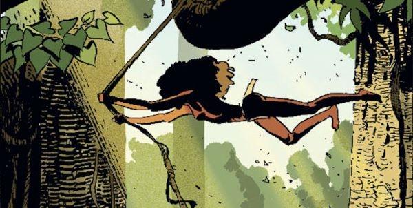 une jeune femme noire « Alter ego » de Tarzan