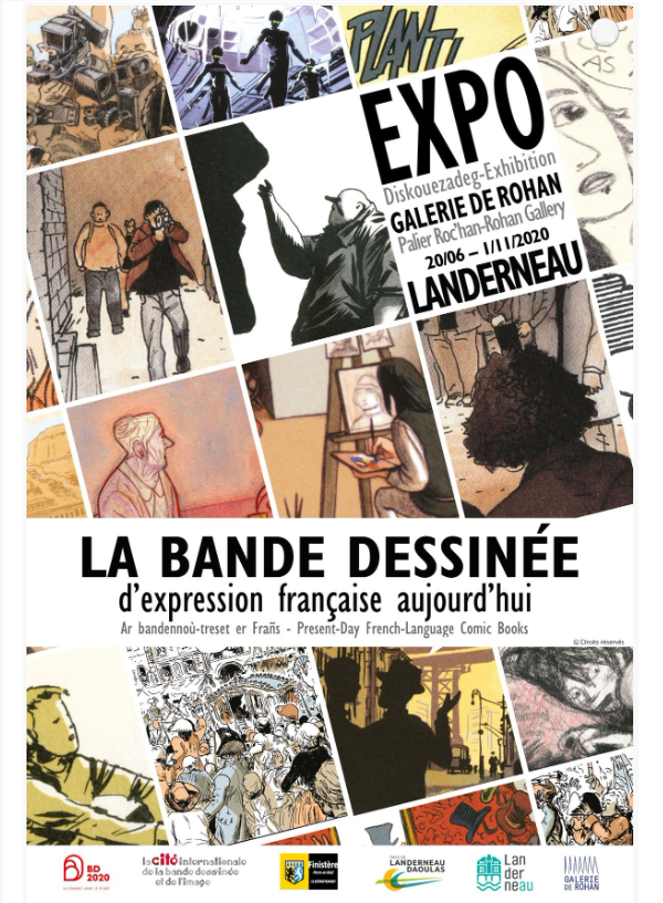 Exposition la BD d'expression française aujourd'hui