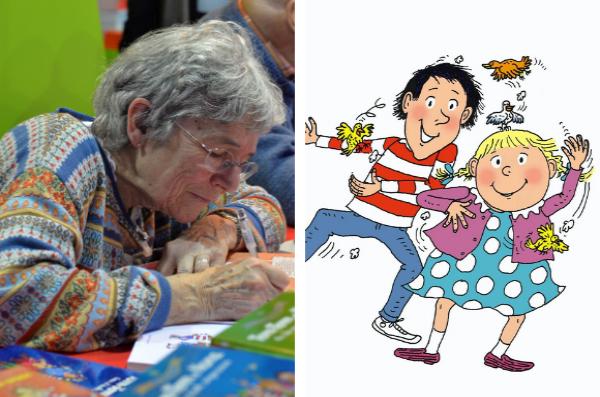 Bernadette Després débute le métier d'illustratrice pour les journaux de Bayard Presse