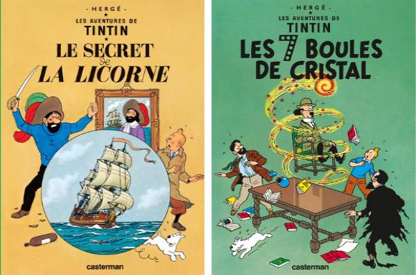 On retrouve Haddock et ses jurons dans 15 aventures de Tintin