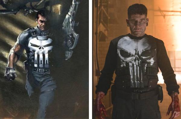 Le Punisher a repris une popularité dans le monde avec la série Netflix