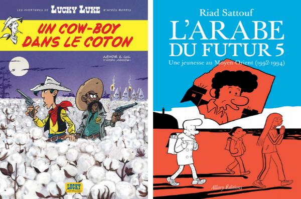 Lucky Luke et L'Arabe du Futur ont contribué à la bonne forme des ventes BD