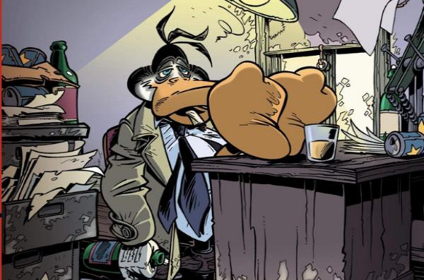 Canardo est un détective privé, dépressif et désabusé