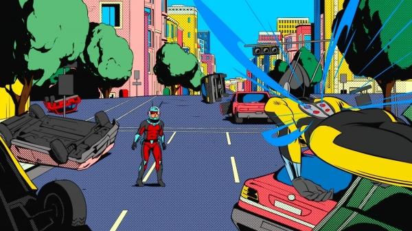 Ugo Bienvenu a participé à la série Ant Man