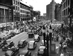 Syracuse en 1945.