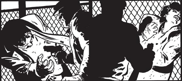 Batman Année Un (Noir et blanc) par Miller et mazu