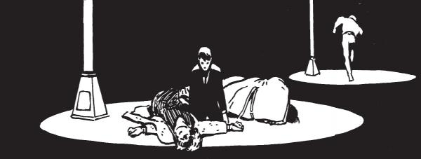 Batman Année Un (Noir et blanc) par Miller et Mazzucchelli © DC Comics/Urban Comics