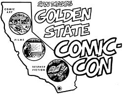 Premier logo de la Comic Con (1970)