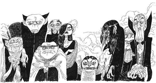 Extrait du roman illustré par Boulet