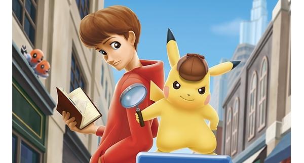 A la moindre énigme, Pikachu n'hésite pas dégainer sa loupe de détective !